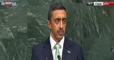 وزير الخارجية الإماراتى: يؤسفنا ما تقوم به بعض الدول من الترويج للإرهاب