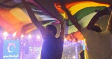 """رفع علم المثليين فى حفل بالتجمع الخامس لفرقة """"مشروع ليلى"""""""