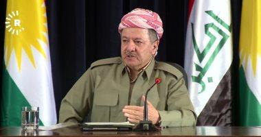 مسعود بارزانى مغردا عبر تويتر : قلقون جدا على الأكراد فى سوريا