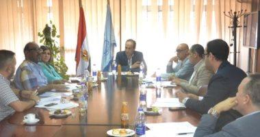 """""""الحاج على"""" يجتمع باتحاد الناشرين المصريين والعرب استعدادا لمعرض القاهرة للكتاب"""