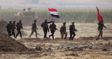 الجيش العراقى يحرر منطقة الحصى من قبضة داعش بالأنبار