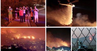 ارتفاع عدد ضحايا حرائق الغابات فى كاليفورنيا لـ26 قتيلا