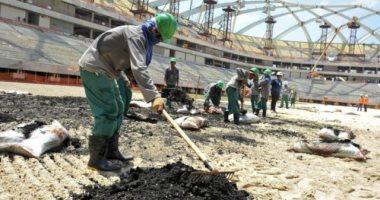 قطريلكيس تكشف عبودية تنظيم الحمدين لعمال دول فقيرة فى منشآت مونديال 2022