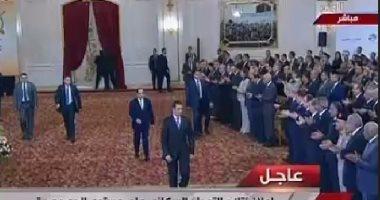 الرئيس السيسى يصل مقر احتفالية إعلان نتائج تعداد سكان مصر 2017