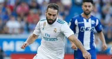 كارفاخال يدعم قائمة ريال مدريد أمام أتلتيكو