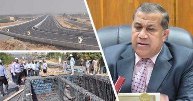 رئيس هيئة الطرق: ملتزمون بالانتهاء من تنفيذ الدائرى الإقليمى نهاية مارس