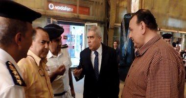 مساعد وزير الداخلية : تعقيم محطات المترو والسكة الحديد بعناصر المفرقعات