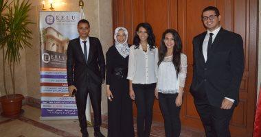 7 طلاب يبتكرون جهازا لمساعدة المكفوفين على تمييز الأشياء فى الإسكندرية