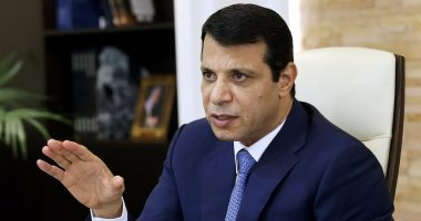محمد دحلان يبارك اتفاق المصالحة ويثنى على دور مصر والوزير خالد فوزى