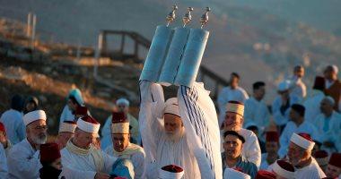 """بالصور.. يهود العالم يحتفلون بعيد """"المظلة"""" ذكرى التيه فى سيناء بعهد النبى موسى"""