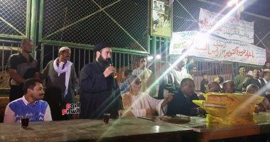 """مسلمو وأقباط قرية """"الفنت الشرقية"""" ببنى سويف يحتفلون بذكرى أكتوبر المجيدة"""