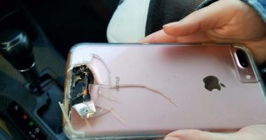 هاتف آيفون ينقذ حياة امرأة من حادث إطلاق النار فى لاس فيجاس