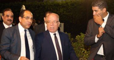 وزير الثقافة وماجد الكدوانى على السجادة الحمراء بختام الإسكندرية السينمائى