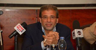 خالد يوسف: تحية لأبطال مصر من رجال الجيش والشرطة فى حربهم على الإرهاب