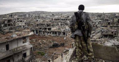 لقطات فيديو تظهر آثار غارات جوية فى الغوطة الشرقية بسوريا