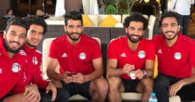 منتخب مصر يتحرك إلى ملعب برج العرب فى الخامسة مساء