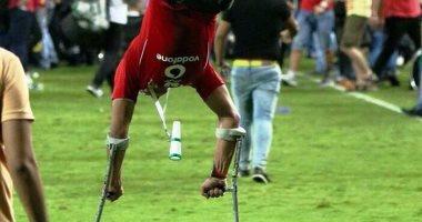 الفيفا يطلب بيانات الشاب الراقص بقدم واحدة بعد تأهل مصر للمونديال