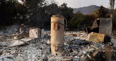 مصرع 10 أشخاص ودمار فى كاليفورنيا بسبب الحرائق