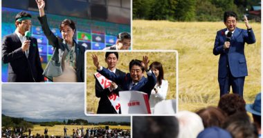 """منافسة شرسة بين """"شينزو آبى"""" وحاكمة طوكيو فى الانتخابات التشريعية المبكرة"""