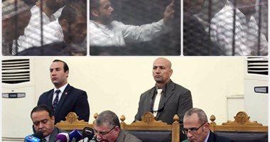 الإعدام لـ8 متهمين والمؤبد لـ50 بقضية اقتحام قسم حلوان