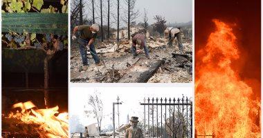 استمرار حرائق كاليفورنيا وارتفاع الضحايا لـ17 قتيلا