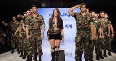 """عرض أزياء لـ منال عجاج فى بيروت بعنوان """"آلهة الياسمين"""""""