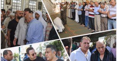 تشييع جنازة المخرج والمبدع محمد راضى من مسجد السلام بمدينة نصر