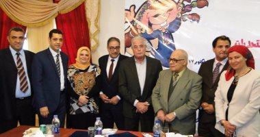 بالصور.. محافظ جنوب سيناء فى مؤتمر ثقافة الطفل: اتخذوا محمد صلاح قدوة