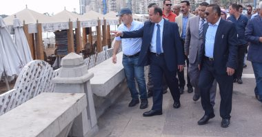 محافظ الإسكندرية: أعددنا نموذجا تجريبيا لتطوير الشواطئ تمهيدا لتعميمه