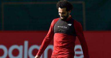 بالصور.. محمد صلاح يستعد لقمة مانشستر يونايتد مع ليفربول