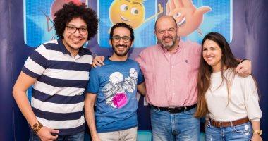 """أحمد حلمى: مخرج """"الإيموجيز"""" ساعدنى كثيرا فى أداء دورى بالفيلم"""