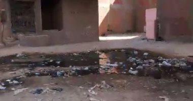شكوى من انتشار مياه الصرف فى شوارع تقسيم عبد المنعم أمين بالقليوبية