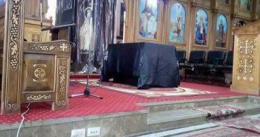 """بيت العائلة المصرى يعزى فى مقتل كاهن كنيسة """"القديس يوليوس"""" بعزبة جرجس بالفشن"""
