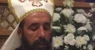 القمص سمعان حكاية محبة..رسمته الكنيسة بالتسعينيات.. وأهالى القرية: أحزننا بشدة بوفاته