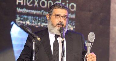 """الكدوانى يوجه التحية لمروان حامد وأحمد مراد من """"مهرجان الإسكندرية"""""""