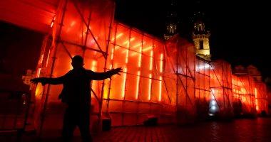 """بالصور.. انطلاق مهرجان الضوء فى العاصمة التشيكية """"براغ"""""""