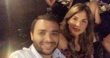 شاهد.. آخر صورة لرامى صبرى بصحبة زوجته قبل إلقاء القبض عليه