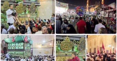 احتفالات الطرق الصوفية بمولد السيد البدوى فى طنطا بحضور المحافظ وقيادات الأمن