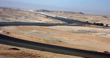بدء تنفيذ طريق شرق العوينات الفرافرة الدائرى بتكلفة 7 مليون جنيه -