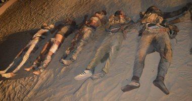 مقتل 16 إرهابيا فى تبادل إطلاق النار مع الأمن بالعريش