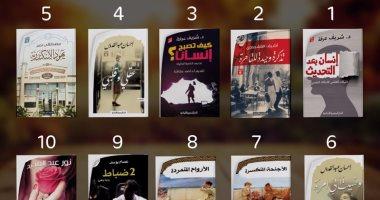 """تعرف على الكتب الأكثر مبيعًا بـ""""الدار المصرية اللبنانية"""".. شريف عرفة يتصدر إصدارين"""