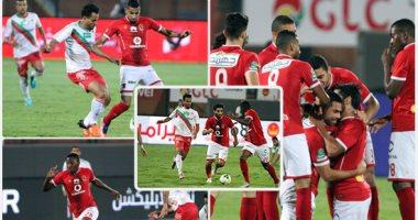 الأهلى يقفز 6 مراكز فى جدول ترتيب الدورى المصرى بعد رباعية الرجاء -