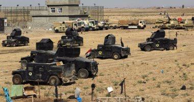 القوات العراقية تصادر أسلحة وعتاد لداعش شمال شرقى بغداد