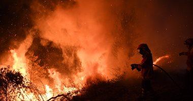 حرائق الغابات فى إسبانيا