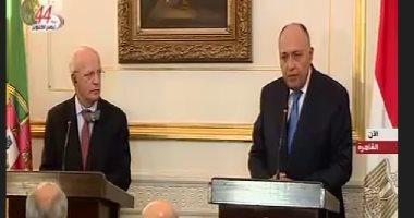 شكرى: مصر لم تتلق دعوة للمشاركة بأستانة والإرهاب يهدد استقرار سوريا