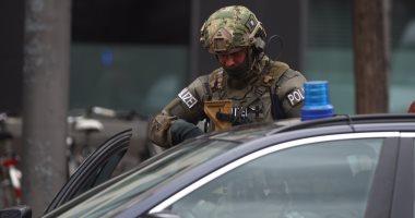 الشرطة الألمانية فى موقع حادث ميونخ
