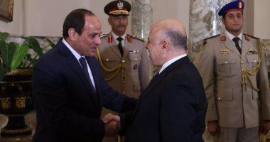 الحكومة العراقية: الرئيس السيسى استقبل رئيس الوزراء حيدر العبادى