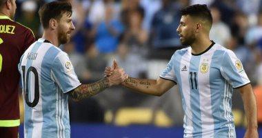 شاهد.. أجويرو ثالث الهدافين التاريخيين للأرجنتين بعد هدف نيجيريا