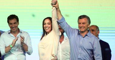 """بالصور.. تحالف """"لنغير"""" بزعامة رئيس الأرجنتين يفوز بالانتخابات التشريعية"""
