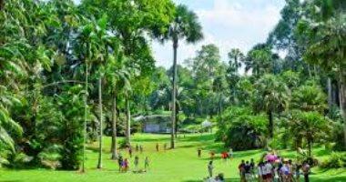 الحدائق الوطنية فى سنغافورة تفوز بجائزة اليونسكو - السلطان قابوس